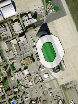 49ers Stadium at Moffett 2011